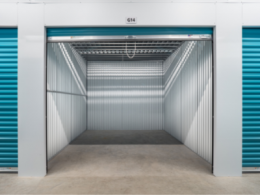 Inside of Climate Controlled Storage Unit