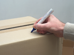 Labelling Boxes When Packing