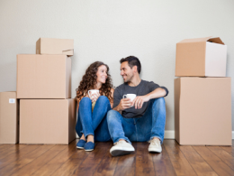 Couple Moving Into New Home Together