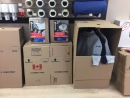 Moving Boxes & Self Storage