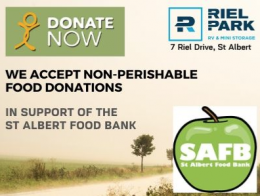 We Accept Food Bank Donations All Year!