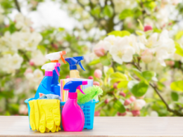 Spring Cleaning Cleaning Products